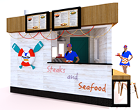 Prime Shack MNL Food Stall