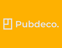 Pubdeco | Logo redesign concept