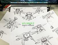 XPLORE 2—Sketch Process In 2015