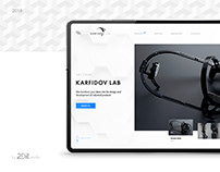 Industrial Design Company | Website Redesign Concept