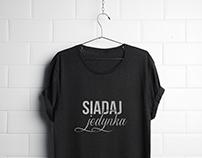 Koszulka Siadaj jedynka