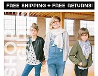 Mailchimp E-mail Campaigns : Jonas Paul Eyewear