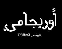 Origami Arabic Font