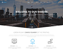 Web World - Single Page Simple Template