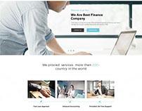 Finance Template Design