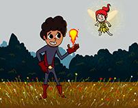 Ilustrando cuentos de niños en el Heraldito
