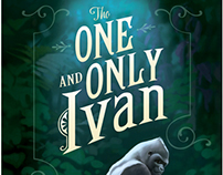 THE ONE AND ONLY IVAN / BOOK DESIGN