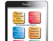 iTeach Conference Poster/Flyer