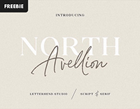 Free Download: North Avellion Font Duo