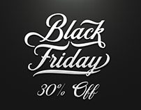 Black Friday Sale - 30%