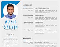 Simple Resume (CV) Template