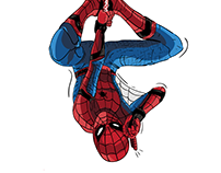 Spiderman Home Coming Poster for Personal Project