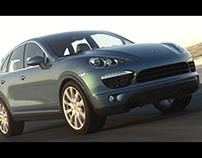 Porche Automotive Visualization
