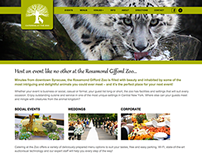 CateringAtTheZoo.org website design
