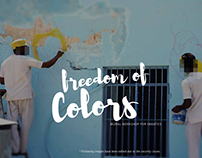 Freedom of Colors- Mural workshop for inmates
