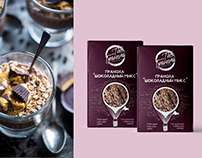 Packaging design for The Granola