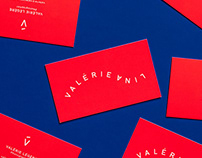Valeri Lina Logo and stationery