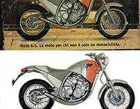 Motor Bike Poster Color