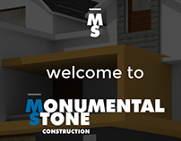 MSC One Page Website Layout