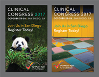 Digital Sidebar Ads for Clinical Congress