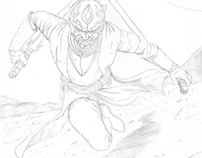 Darth Maul Pencils