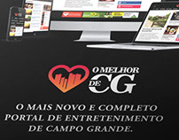 O Melhor de CG - Logotipo e Website