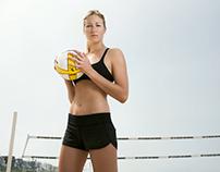Karsta Lowe US Olympic Volleyball Team Portrait
