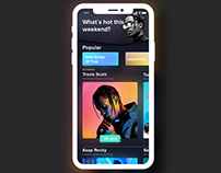 MUSIC NEWS APPLICATION INSPIRACION