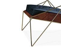 WONDER :: armchair & footstool