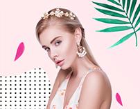 Редизайн российского сайта бренда DIVA