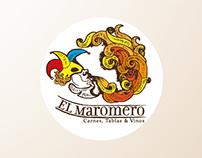 MAROMERO-Carnes, tablas y vinos- Propuesta de diseño