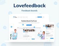 Lovefeedback - Feedback boards
