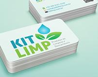 """Cartão de Visita  e Folder """"Kit Limp"""""""
