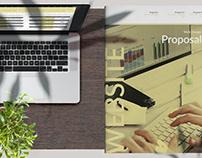 Modern Website Proposal Layout