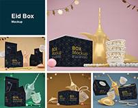 Eid Box Mockup
