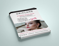 Oriflame Leaflet Design