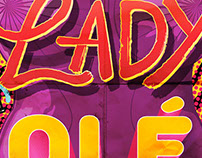 Lady Ole logo and poster