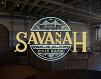 Savannah River Room Branding & Identity