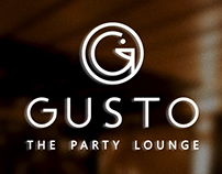 Gusto: The Party Lounge - Branding