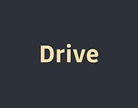 Drive Font