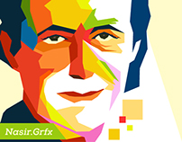 Imran Khan Pop Art Portrait