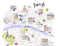 Paris Hotspots por Dior