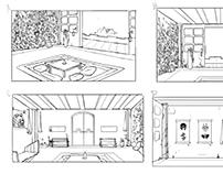 Dojo Series BG Cleanup/Design Set: Meditation Room