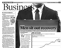 Newspaper Business page