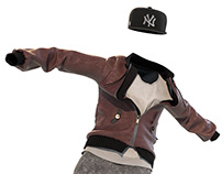 Break dance / Clothing simulation