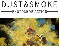 Dust&Smoke Photoshop Action