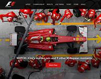 Formula1 Website Redesign