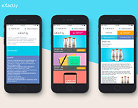 Mobile app | eXact.ly