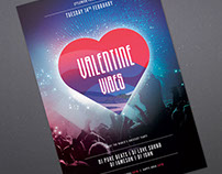 Valentine Vibes Flyer Template