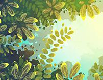 Background art for animation short : 'Egér'